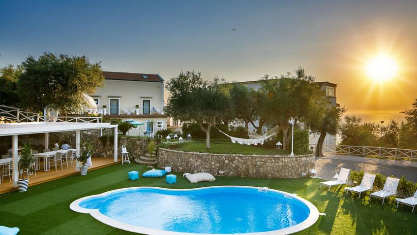 MelRose Relais Small Boutique Hotels Massa Lubrense