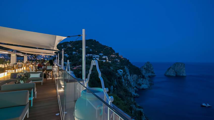 Capri Rooftop Nightlife Capri