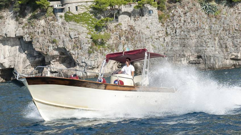 Grassi Junior Boats Guided tours Positano
