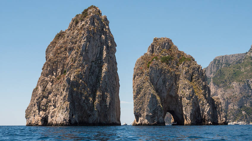 Capri Boat Experience Excursions by sea Napoli
