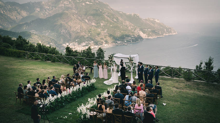 Chic & Fabulous Wedding Planners Ravello
