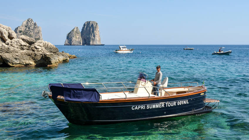 Capri Summer Tour Excursions by sea Capri