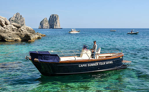 Capri Summer Tour - Evening Water Taxi Service from Capri to Nerano