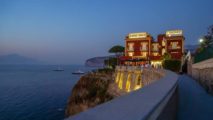 Hotel Lorelei Londres 5 Star Hotels Sorrento