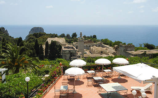 Hotel Sina Flora Small Boutique Hotels Capri