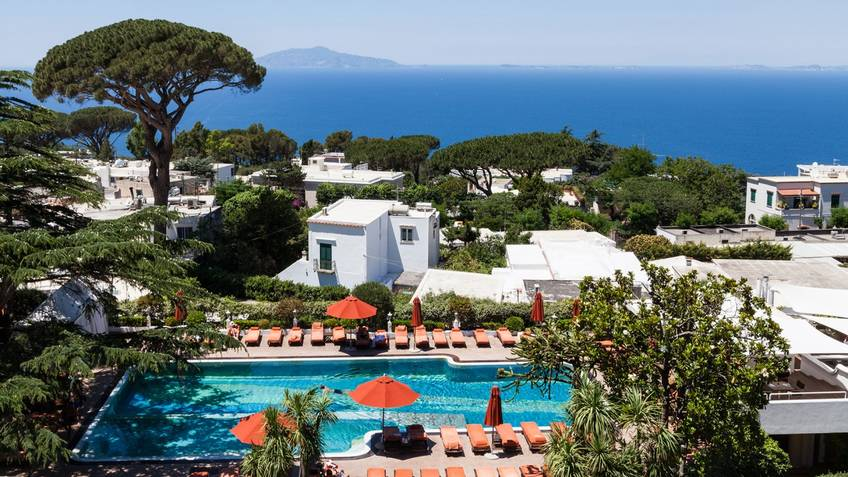 Capri Palace Hotel-Spa 5 Star Luxury Hotels Anacapri