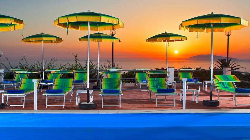 Hotel Il Girasole 3 Star Hotels Anacapri