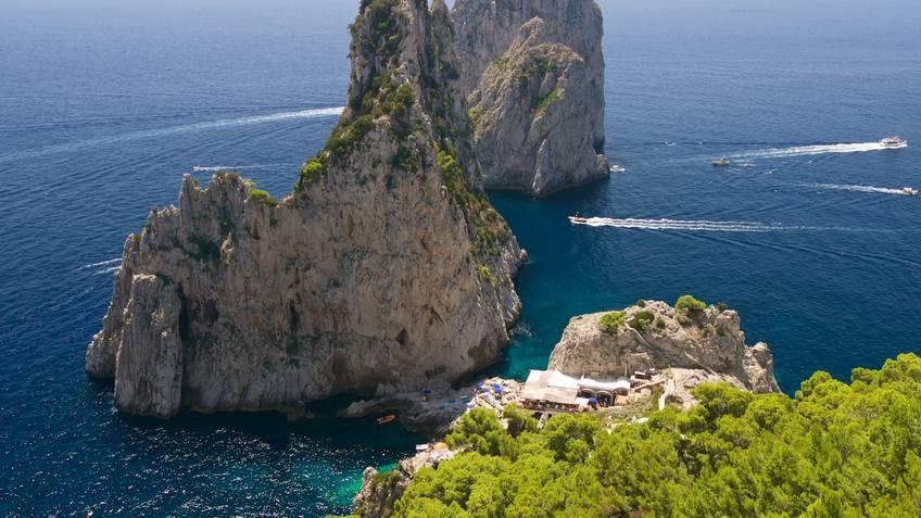 Da Luigi ai Faraglioni Restaurants Capri