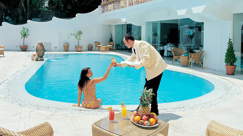 Hotel La Residenza Hotel 4 estrelas Capri