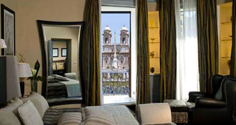 The Inn & the View at the Spanish Steps Roma Piazza di Spagna hotels