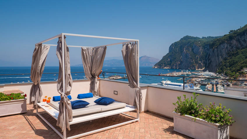 Relais Maresca Luxury Small Hotel 4 Star Hotels Capri