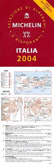 GUIDA MICHELIN<br>Italia 2004 - Mulino