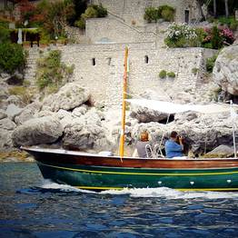 Capri Relax Boats - Half day tour by private gozzo around the Isle of Capri