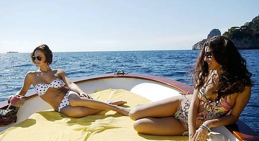 Capri Relax Boats - Full day around Capri by gozzo boat (7.80 mt)