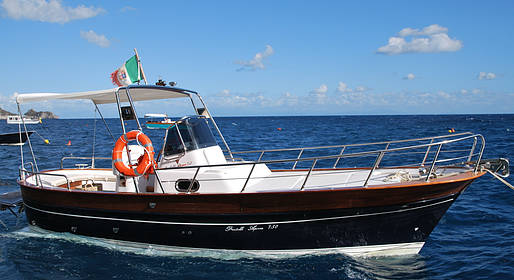 Plaghia Charter - Luxury of the Amalfi Coast by Aprea 32 Gozzo Boat