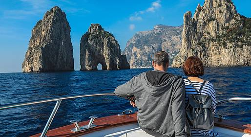 Travel Etc  - Boat Tour from Sorrento To Capri and the Peninsula