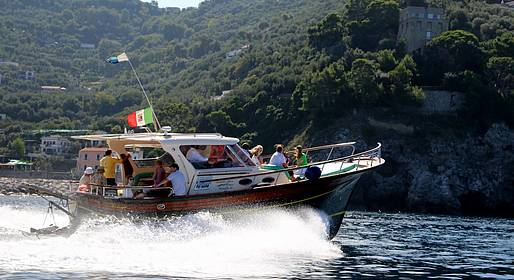Travel Etc  - Boat Tour from Sorrento to the Amalfi Coast