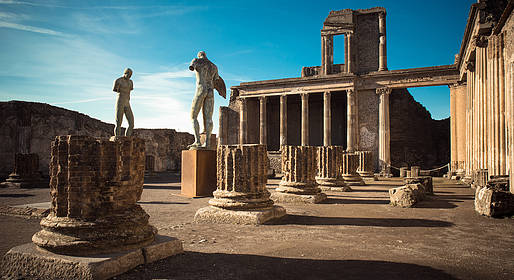 Goldentours - Pompeii Half-day Tour