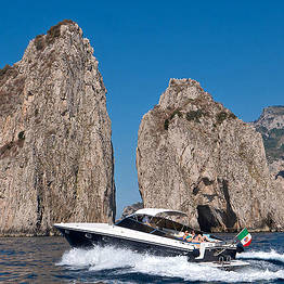Priore Capri Boats Excursions - VIP Transfer Sorrento-Capri (car+speedboat+taxi)