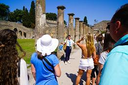 Guided walking tour of Pompeii  Skip-the-line Tickets