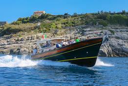 Amalfi coast boat tour from Sorrento with hybrid boat
