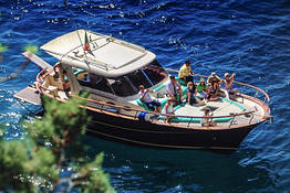 Amalfi Coast boat tour from Rome by high speed train