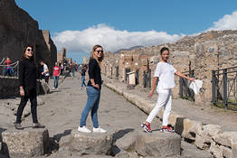 Pompei e Vesuvio: Tour in Barca da Sorrento con pranzo
