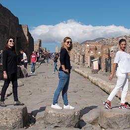 You Know! - Pompeii & Vesuvius: Boat tour from Sorrento with lunch