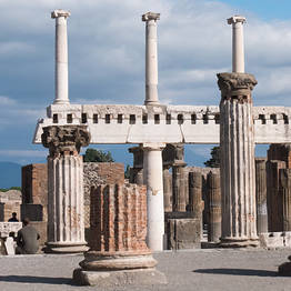 Sunland Travel - Private Guided Visit to Pompeii Ruins (2/3 hours)