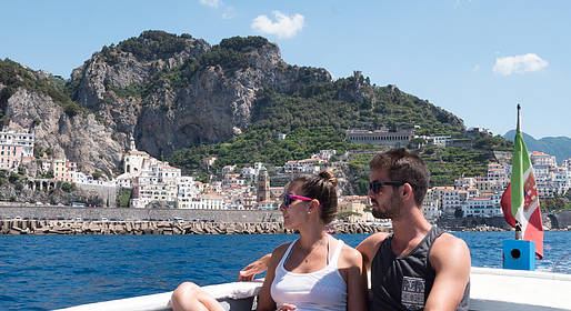 Sunland Travel - Shared Cruise to Positano from Amalfi/Minori/Maiori
