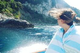 """Gozzo"" Boat Tour of Capri"