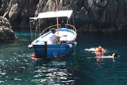 Capri boat tour half day or full day with private boat