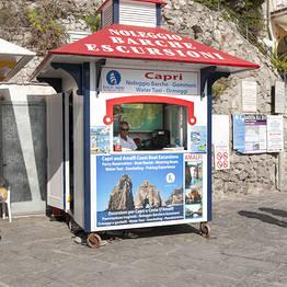 Grassi Junior Boats - Tour privato a Capri dalla Costiera - gozzi Aprea