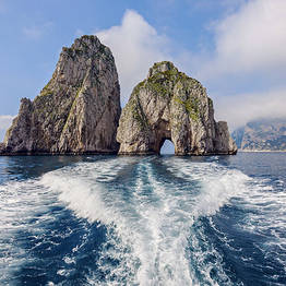 You Know! - Capri Boat Tour (Car from Positano to Sorrento Port)