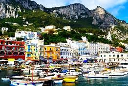 Capri e Pompei in un giorno, partenza da Napoli
