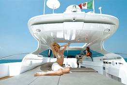 Boat Tour of Capri via Della Pasqua 50 Yacht