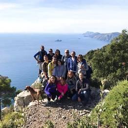 Cartotrekking - punto panoramico ottimo per foto di gruppo