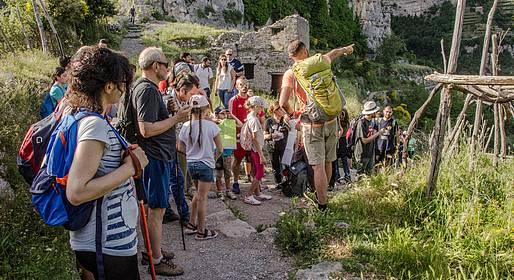 Cartotrekking - Escursione di gruppo sul Sentiero degli Dei + guida