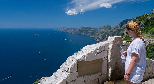 Astarita Car Service - Tour to the Path of Gods + Visit Positano