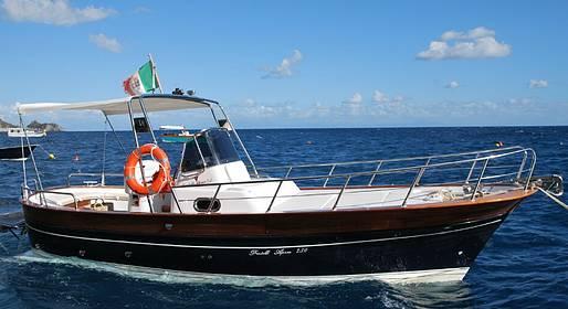Plaghia Charter - Costiera Amalfitana, tour in barca di mezza giornata