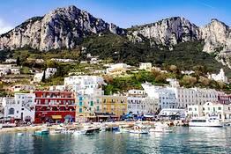 Capri da Salerno, tour in barca di gruppo
