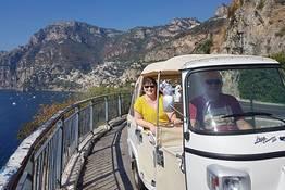 Amalfi Coast Tour via Ape Calessino (Tuk Tuk)