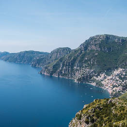 Sorrento Limo - Path of the Gods Transfer and Guided Hike