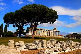 Paestum + Mozzarella Tour from Naples or Amalfi Coast