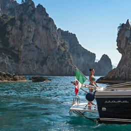 Priore Capri Boats Excursions - Tour from Sorrento to Ischia/Procida via Itama 40