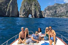 Boat Tour Sorrento - Capri + Free Time on the Island