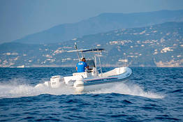 Capri Rubber Dinghy Rental (250 hp, license required)