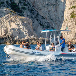 Capri Whales - Mini-Tour of Capri via 250-hp Rubber Dinghy w/ Skipper