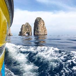 Capri Whales - Capri 7.5-meter Gozzo Boat Rental (license required)