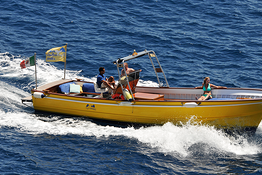 Capri 7.5-meter Gozzo Boat Rental (license required)